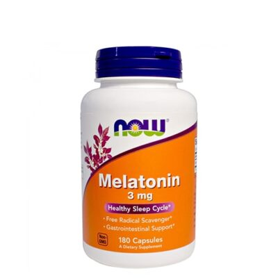 NOW: Melatonin (3 мг, 180 капс)