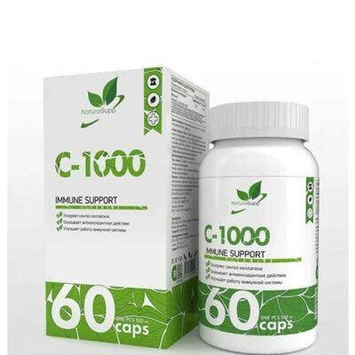 Natural Supp: C-1000 (60 капс)