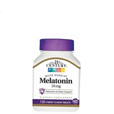 21st Century: Melatonin 10 mg (120 таб)