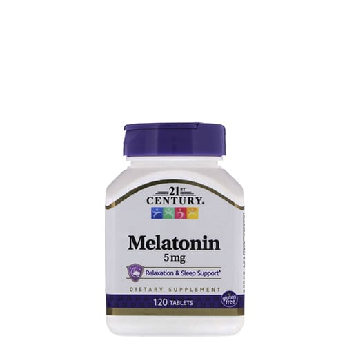 21st Century: Melatonin 5 mg (120 таб)