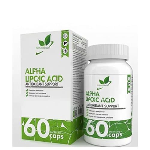 Natural Supp: Alpha Lipocid Acid (60 капс)