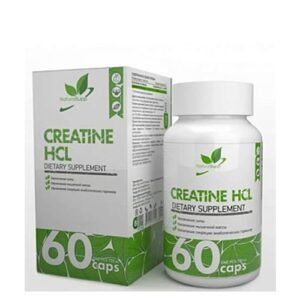 Natural Supp: Creatine HCL (60 капс)