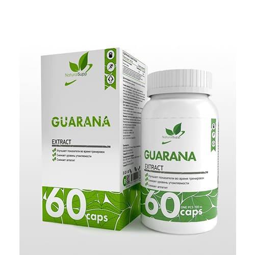 Natural Supp: Guarana (60 капс)